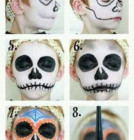 макияж на хэллоуин фото 52