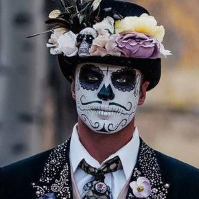 макияж на хэллоуин фото 55