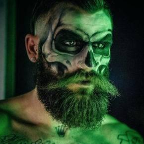 макияж на хэллоуин фото 57