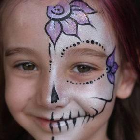 макияж на хэллоуин фото 61