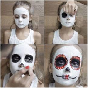 макияж на хэллоуин фото 62