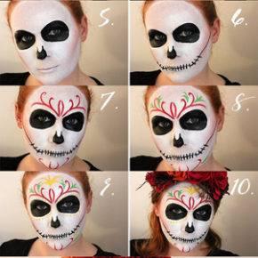 макияж на хэллоуин фото 63