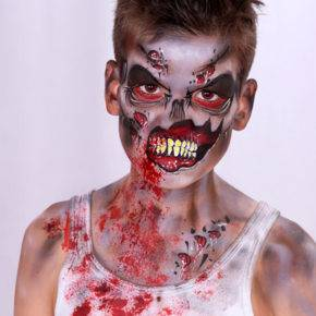 макияж на хэллоуин фото 64