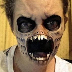 макияж на хэллоуин фото 65