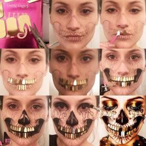 макияж на хэллоуин фото 66