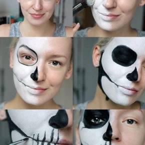 макияж на хэллоуин фото 67