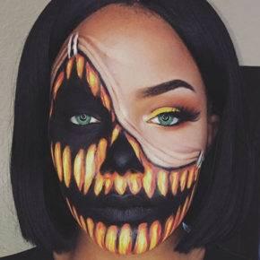 макияж на хэллоуин фото 68
