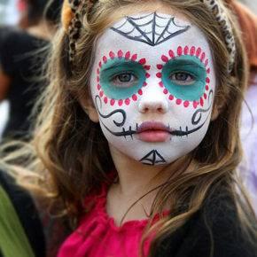 макияж на хэллоуин фото 72