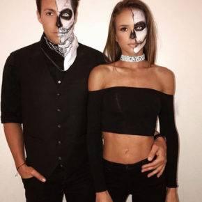 макияж на хэллоуин фото 74