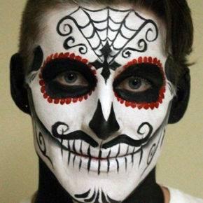 макияж на хэллоуин фото 75