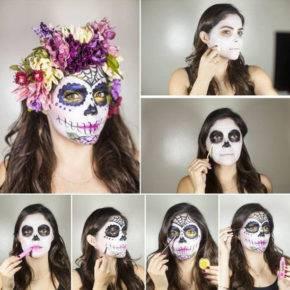 макияж на хэллоуин фото 76