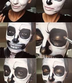 макияж на хэллоуин фото 78