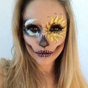 макияж на хэллоуин фото 79