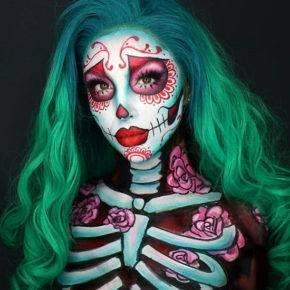 макияж на хэллоуин фото 81