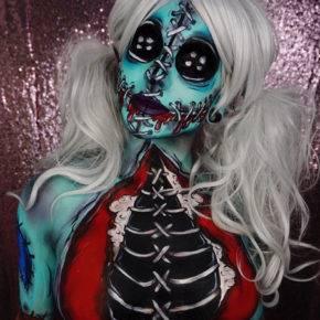 макияж на хэллоуин фото 83