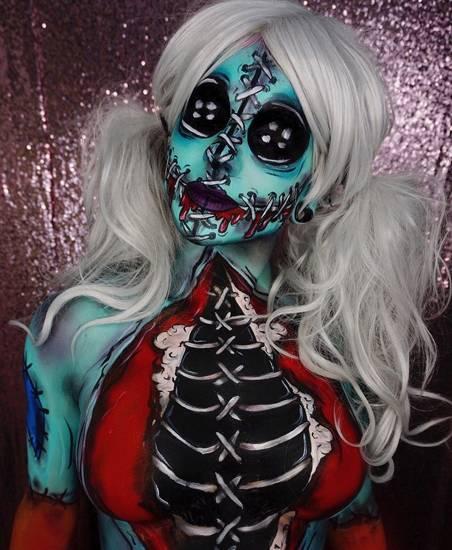 Макияж на Хэллоуин ☠ Как сделать грим на Halloween в домашних условиях