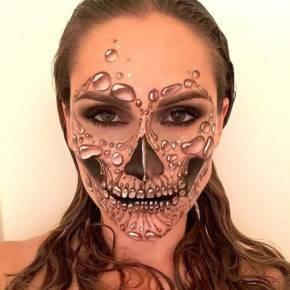 макияж на хэллоуин фото 84