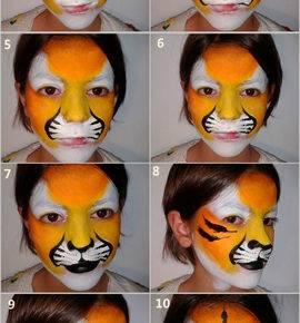 макияж на хэллоуин фото 85