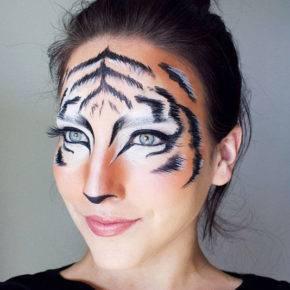 макияж на хэллоуин фото 89