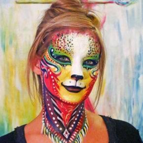 макияж на хэллоуин фото 90