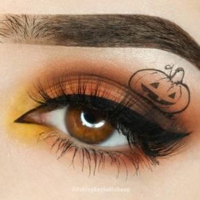 макияж на хэллоуин фото 94