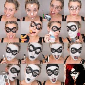 макияж на хэллоуин фото 95