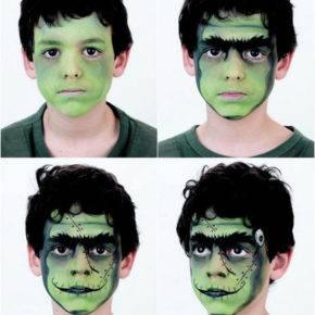 макияж на хэллоуин фото 96