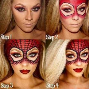 макияж на хэллоуин фото 98