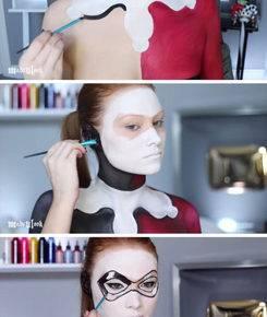 макияж на хэллоуин фото 101