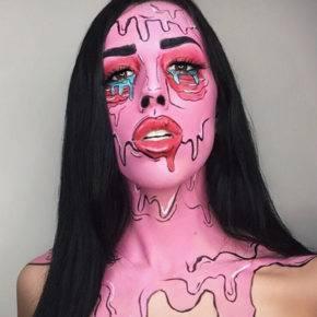 макияж на хэллоуин фото 102