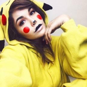 макияж на хэллоуин фото 103