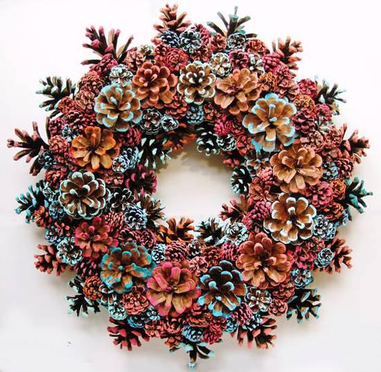 Новогодние поделки из шишек 🎄 55+ идей декора из шишек к Новому году