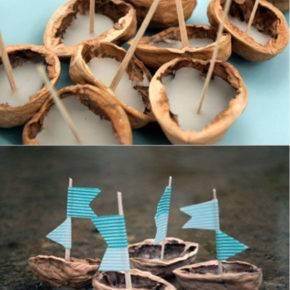 поделки из скорлупы грецкого ореха фото 051
