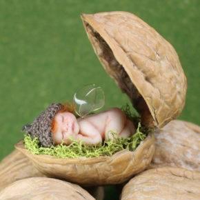 поделки из грецких орехов фото 072