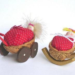поделки из грецких орехов фото 074