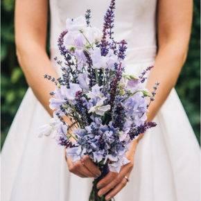 лавандовый букет невесты фото 011