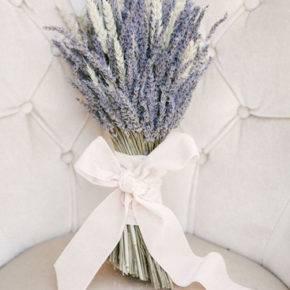 лавандовый букет невесты фото 014