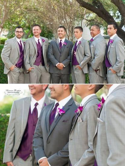 лиловая свадьба фото 020