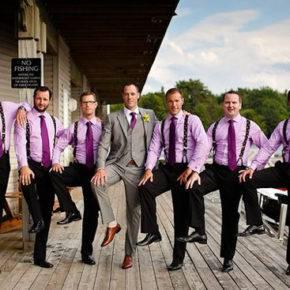 фиолетовая свадьба фото 021