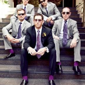 фиолетовая свадьба фото 022