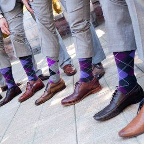 фиолетовая свадьба фото 023