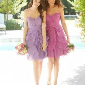 фиолетовый цвет свадьбы фото 026