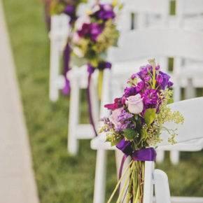 лиловая свадьба фото 030