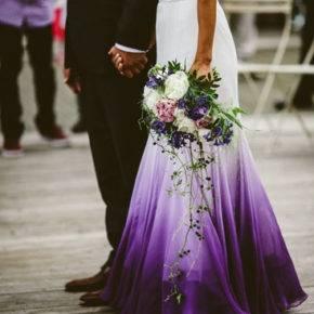 фиолетовое платье на свадьбу фото 046