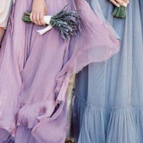 лавандовое свадебное платье фото 047