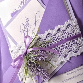 лавандовая свадьба пригласительные фото 050