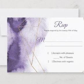 свадьба в фиолетовом цвете пригласительные фото 051