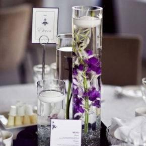 фиолетовая свадьба фото 055