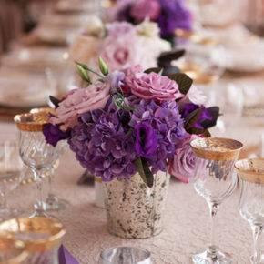 фиолетовая свадьба фото 056