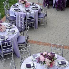 сиреневая свадьба фото 059